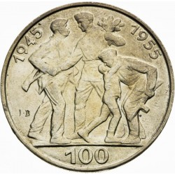 Desiate výročie oslobodenia Československa - 100 Kčs (1955) - BK