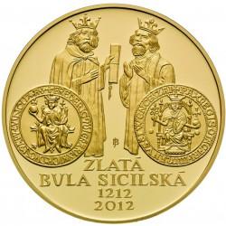 10.000 Kč Zlatá bula sicilská - PROOF (2012)