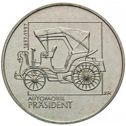 """200 Kč 100. výročí výroby prvního osobního automobilu ve střední Evropě """"Päsident"""" - BK (1997)"""
