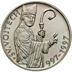 200 Kč 1000. výročí úmrtí sv. Vojtěcha - BK (1997)