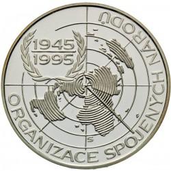 200 Kč 50. výročí založení OSN - PROOF (1995)