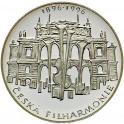 200 Kč 100. výročí zahájení činnosti České filharmonie - PROOF (1996)