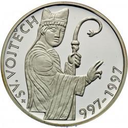 200 Kč 1000. výročí úmrtí sv. Vojtěcha - PROOF (1997)