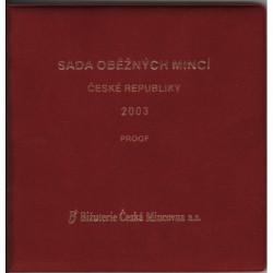 Sada oběžných mincí ČR 2003 PROOF