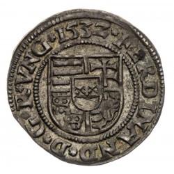 Denár Ferdinand I. 1532