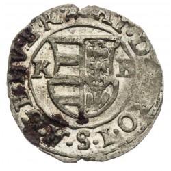 Denár Matej II. 1617
