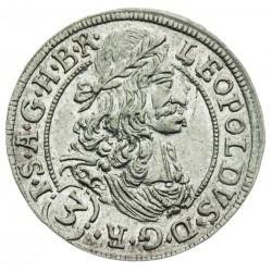 3 Grajciar Leopold I. 1692