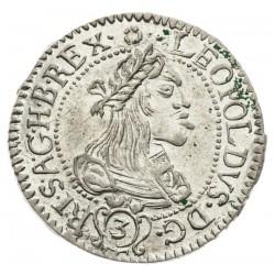 3 Grajciar Leopold I. 1661