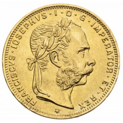 8 Zlatník František Jozef I. 1892 (novorazba)