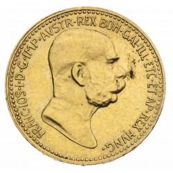 10 Korona František Jozef I. 1909