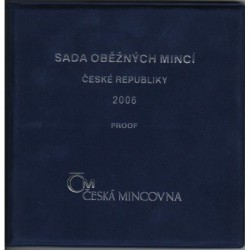 Sada oběžných mincí ČR 2006 PROOF