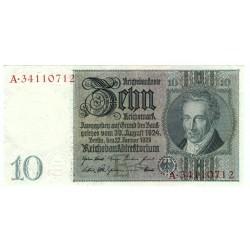 NĚMECKO - 10 Reichsmark 1929