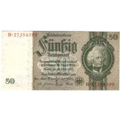 NĚMECKO - 50 Reichsmark 1933