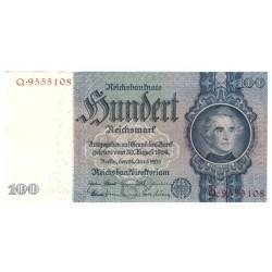NĚMECKO - 100 Reichsmark 1935