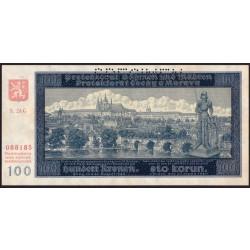 100 Kronen 1940 SPECIMEN II. vydání