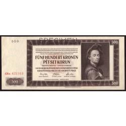 500 Korun 1942 SPECIMEN II. vydání