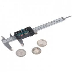 Digitálna šubléra na meranie priemeru