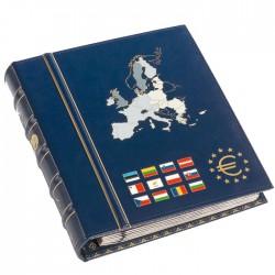 Album na 2-eurové mince VISTA (modrý)