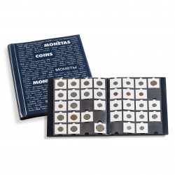 Album OPTIMA Classic na mince v papierovom obale (modrý)