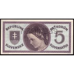 5 Ks b.l.1945 SPECIMEN