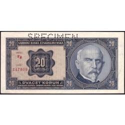 20 Korun 1926 SPECIMEN