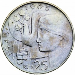 Dvadsiate výročie oslobodenia Československa