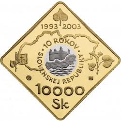 Desiate výročie vzniku SR (2003)