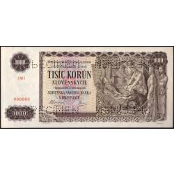 1000 Ks 1940 SPECIMEN