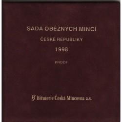 Sada oběžných mincí ČR 1998 PROOF