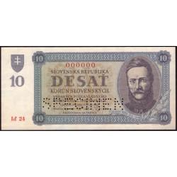 10 Ks 1943 SPECIMEN