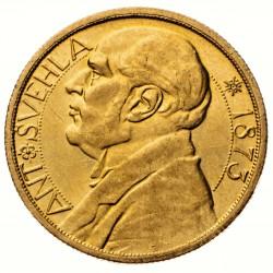Dukátová medaile - Antonín Švehla 1933