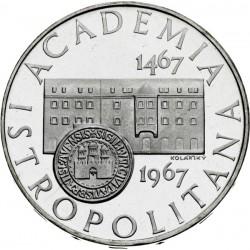 50. výročie Academie Istropolitany - 10 Kčs (1967) - Proof