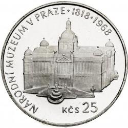 Národné múzeum v Prahe - 25 Kčs (1968) - BK