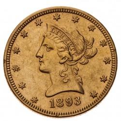 10 dolár 1893