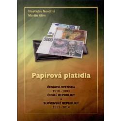 Papierové platidla 1918 - 2014