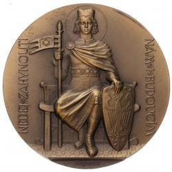 Bronzová medaila 1929 - Dokončenie stavby chrámu Sv. Víta
