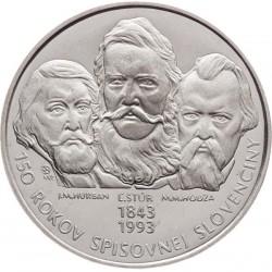 150. výročie kodifikácie spisov. Slovenčiny (1993)