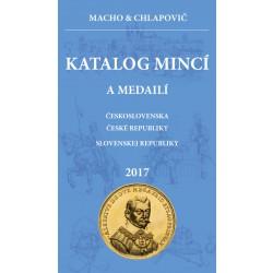 Katalóg mincí a medailí ČSR, ČR, SR 2017