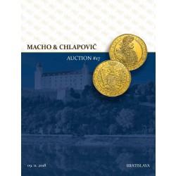 Aukčné katalógy Macho & Chlapovič