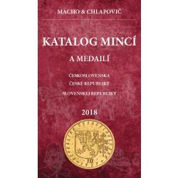 Katalóg mincí a medailí ČSR, ČR, SR 2018