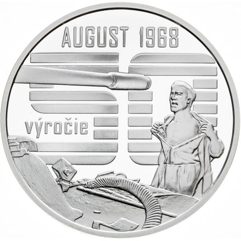 Nenásilný spontánny odpor občanov proti vstupu vojsk Varšavskej zmluvy v auguste 1968
