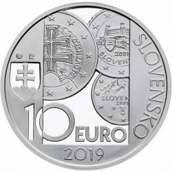 10. výročie zavedenia eura v Slovenskej republike - BK (2019)